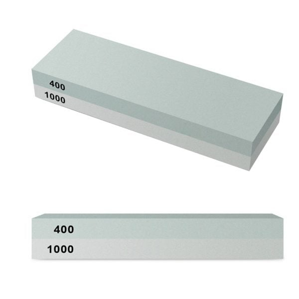 Sharpening Whetstone 400 and 1000 Grit with Rubber Holder 4