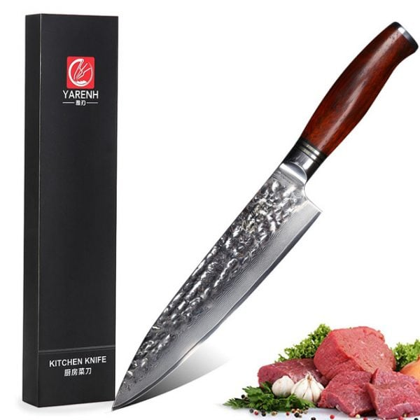 Damascus-Chef-Knife-8-inch-Yarenh-with-Dalbergia-Wood-Handle-product-image-001