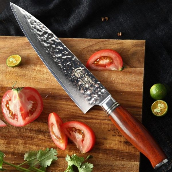 Damascus-Chef-Knife-8-inch-Yarenh-with-Dalbergia-Wood-Handle-product-image-002