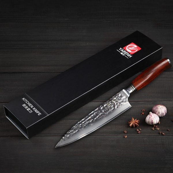 Damascus-Chef-Knife-8-inch-Yarenh-with-Dalbergia-Wood-Handle-product-image-006