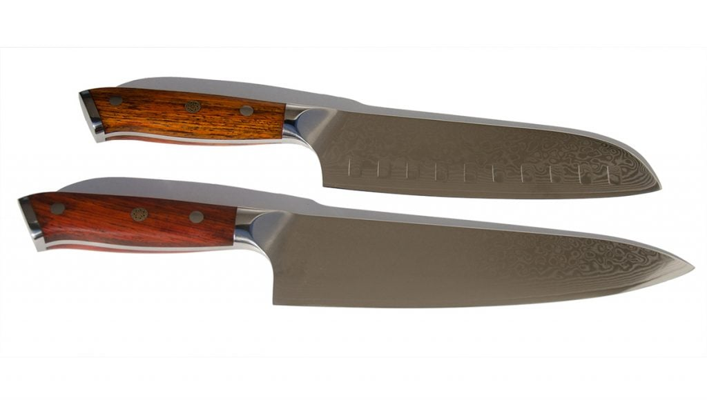 Damascus Steel Chef's Knife - Ⓘ 3