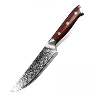 Slicing Knife - 5 inch Xinzuo Yu with Rosewood Handle - Featured Product Image