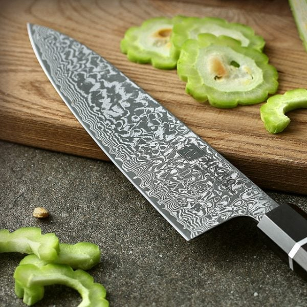damascus-chef-knife-8-5-inch-xinzuo-zhen-with-ebony-wood-and-buffalo-horn-handle-product-image-003